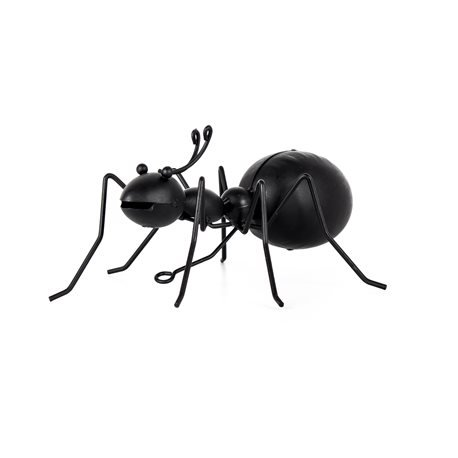 IBIZA - Metallic Decorative Ant. Black