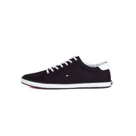 TOMMY HILFIGER - Men's Canvas Shoes Navy Blue/ White