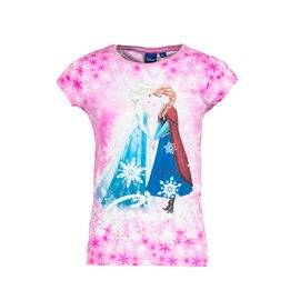 FROZEN - Camiseta manga corta Frozen Junior Rosa