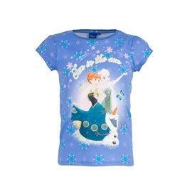 FROZEN - Camiseta manga corta Fun in the sun Junior Lila