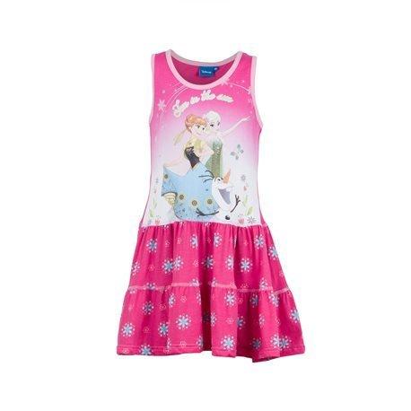 FROZEN - Vestido de tirantes Fun in the Sun Junior Azul Fucsia