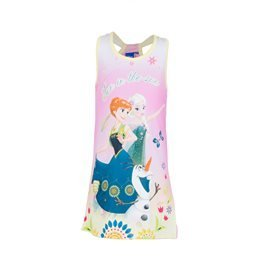 FROZEN - Vestido de tirantes Fun in the Sun Junior Rosa/Amarillo