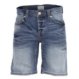 ONLY AND SONS - Pantalón corto Vaquero Hombre Azul Desgastado