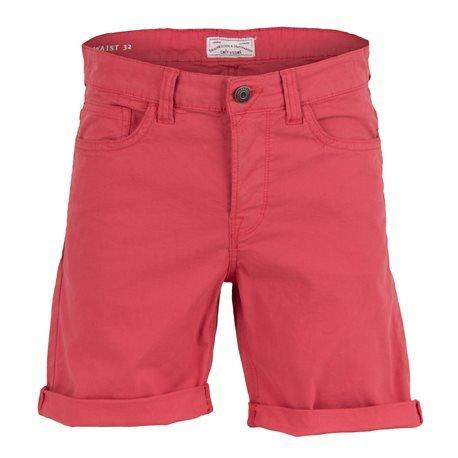 ONLY AND SONS - Pantalón corto Bermuda Hombre Rojo