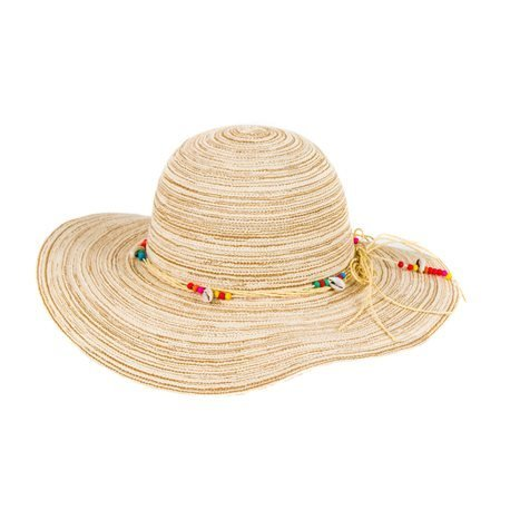 IBIZA - Esparto Sunhat with decorative Ribbon