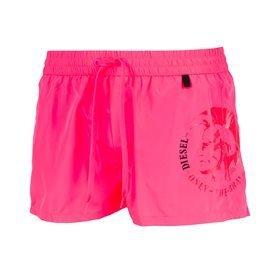 DIESEL - Men's Sandy E Short Swimsuit. Fluor Fuchsia