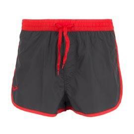 JOMA - Men's Bermuda Short Swimsuit. Grey/ Red