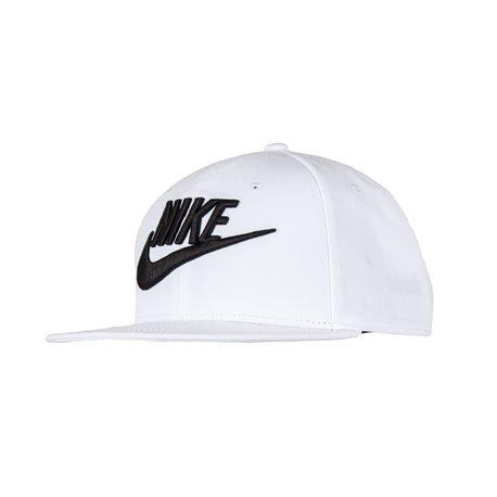 NIKE - Futura True 2 Flat Cap. White
