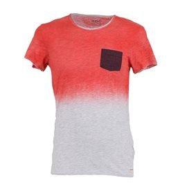 EDC - Camiseta de manga corta Degradado Hombre Naranja