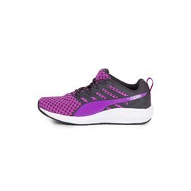 PUMA - Zapatillas Flare Running Junior Morado/Gris