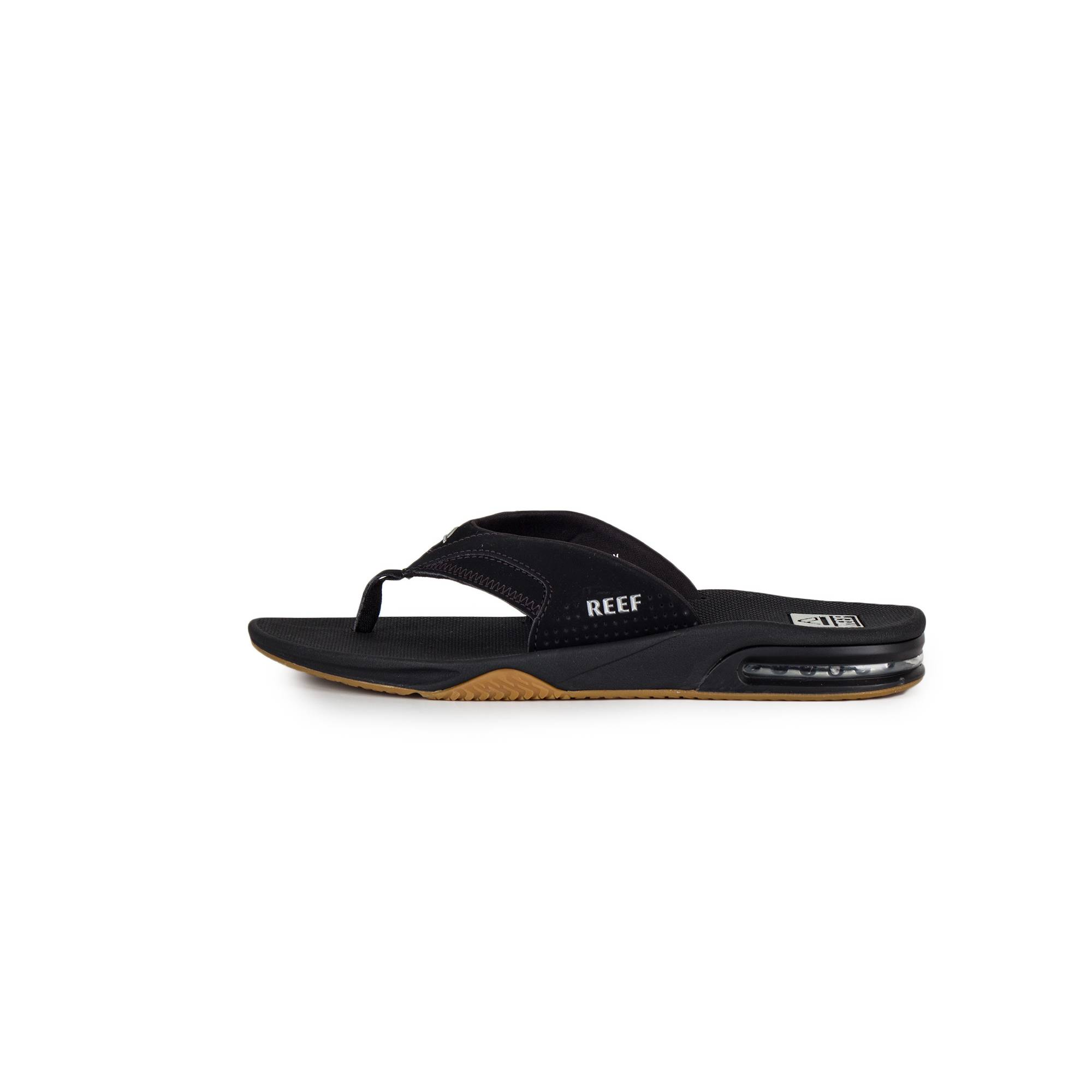 a7ed1a258ee4 REEF - Fanning Vintage Men s Black Sandals. Loading zoom · Display all  pictures