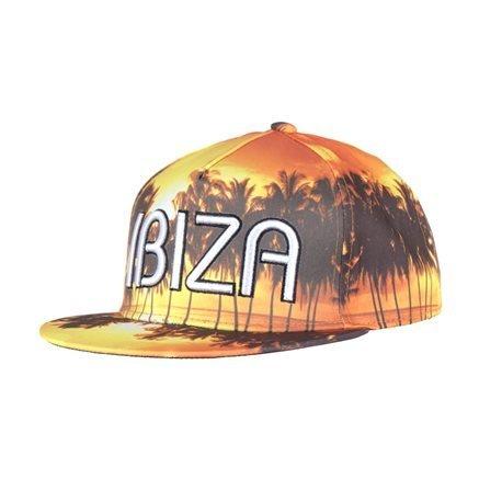 IBIZA - Gorra de visera recta Palms Sunset Adulto