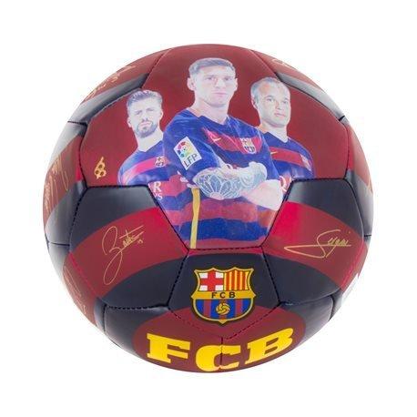FC BARCELONA - Balón firma jugadores FCB