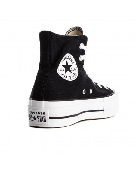 560845C BLACK/WHT/WHT ALL STAR LIFT-HI