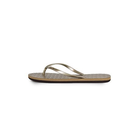 ROXY - April 2015 Women's Gold Flip Flops
