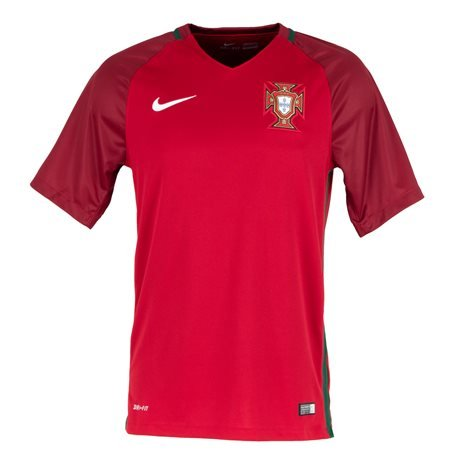 meilleure sélection a49dc 623fc NIKE - Portuguese Football Selection T - Shirt Stadium Home 2016