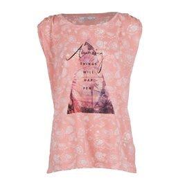 EDC - Camiseta sin mangas Amazing things Mujer Rosa
