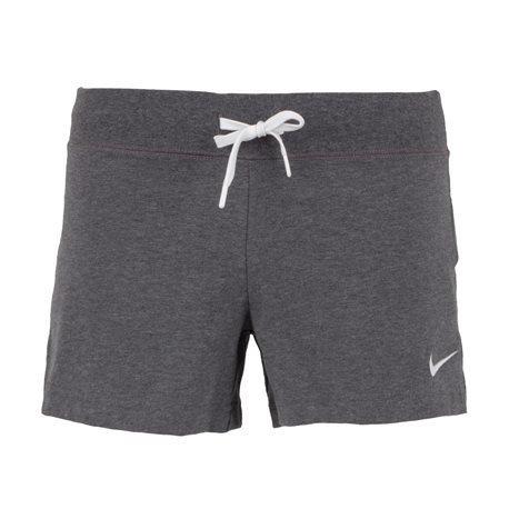 NIKE - Shorts Algodón Mujer Gris