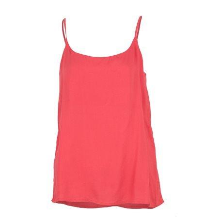 ONLY - Camiseta de tirantes lisa onIGeggo Singlet Mujer Coral