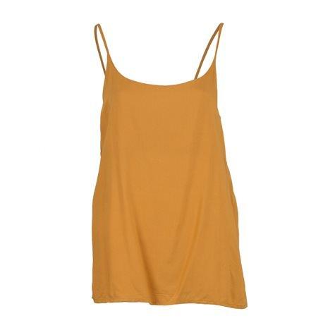 ONLY - Camiseta de tirantes lisa onIGeggo Singlet Mujer Amarillo Mostaza