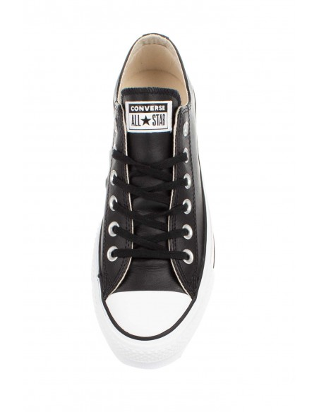 561681C BLACK/BLACK/WHT CHUCK TAYLOR ALL STAR LIFT CLEAN