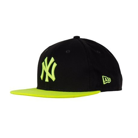NEW ERA - Gorra Snapback NY Yankees 9 Fifty Negro/Verde Neon