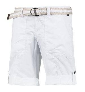 EDC - Women's Play Bermuda Shorts. White