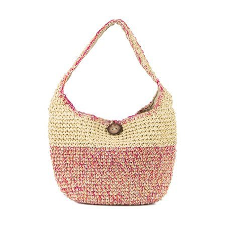 INCAMERA - Summer Bag. Beige/ Pink