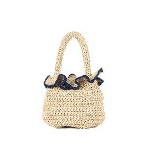 BOLSO NATURAL WJ00115 DARK BLUE