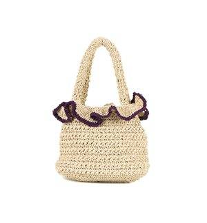 BOLSO NATURAL WJ00115 PURPLE