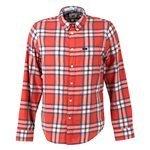 LEE - Camisa de manga larga L880ZJAF Hombre Rojo