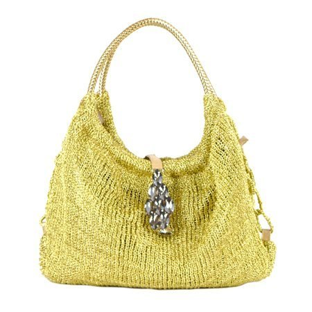 INCAMERA - Beading Summer Bag. Golden