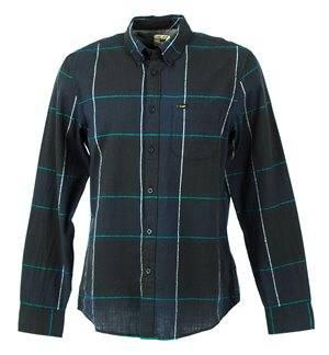 LEE - Camisa de manga larga L880ZKML Hombre Azul Marino