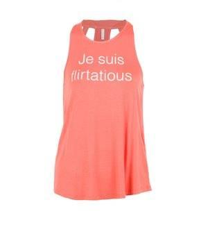 ONLY - Women's onlBonne Sleeveless T - Shirt. Orange