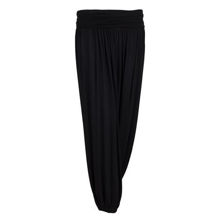 MERHABA IBIZA - Women's Long Baggy Black Trousers