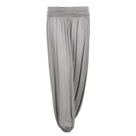MERHABA IBIZA - Women's Long Baggy Trousers. Beige