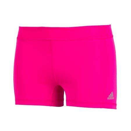 adidas Performance - Shorts ajustados Techfit BS 3 Mujer Fucsia