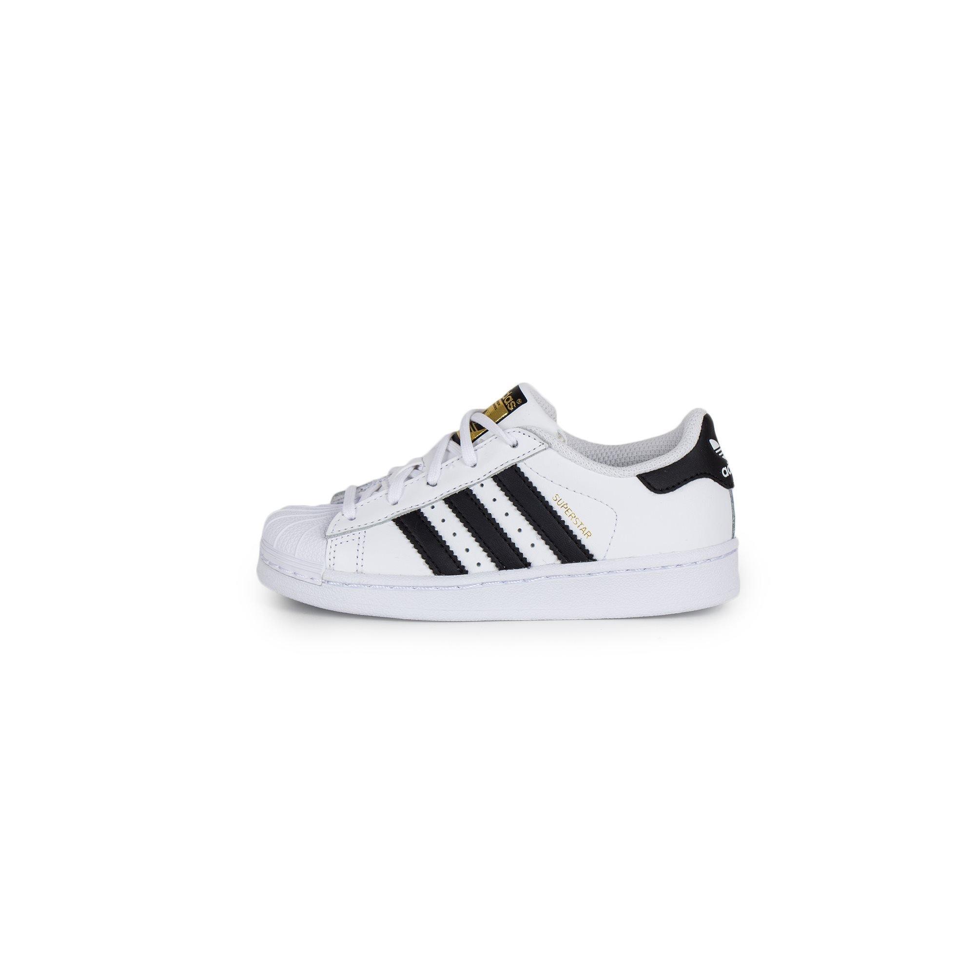 cdd493fe08932 adidas Originals - Superstar Foundation EL C Kids' White/Black Shoes.  Loading zoom