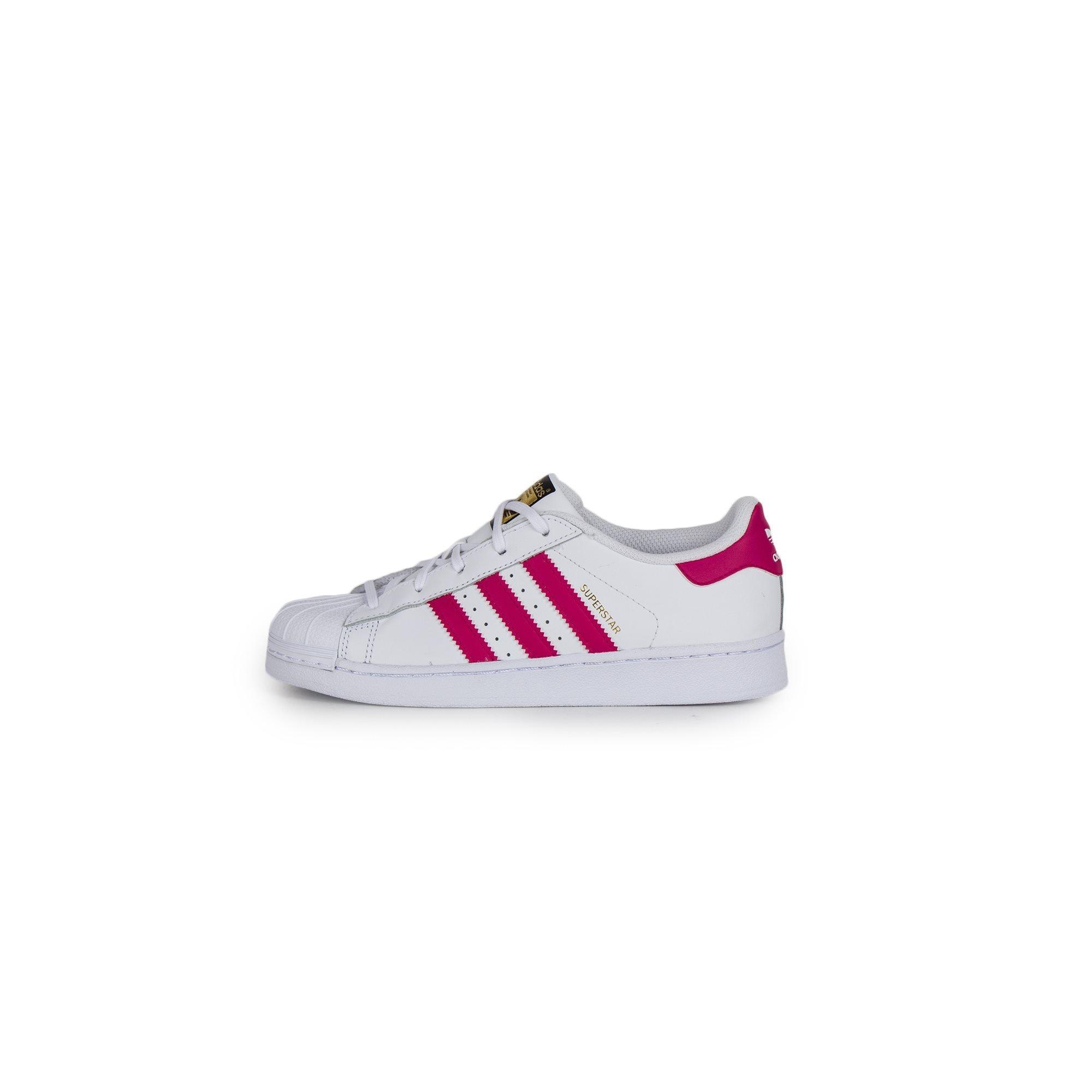 adidas blancas Originals Zapatillas blancas adidas y fucsias 5c6b67