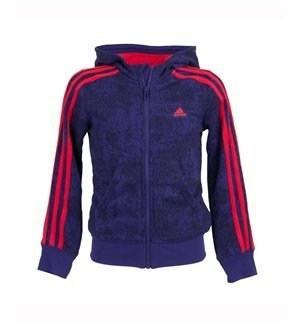 adidas Performance - Chaqueta deportiva Essentials 3S Junior Azul/Rojo