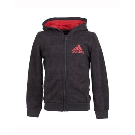 adidas Performance - Chaqueta deportiva All Over Print Junior Gris/Rojo