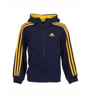 adidas Performance - Chaqueta deportiva Essentials 3S Junior Azul/Amarillo