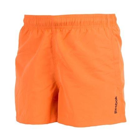 Reebok - Bañador BW Basic Boxer Hombre Naranja