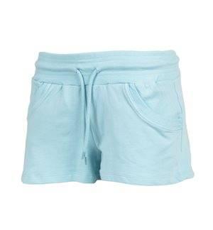 LOSAN - Pantalón corto Training Mujer Azul Celeste