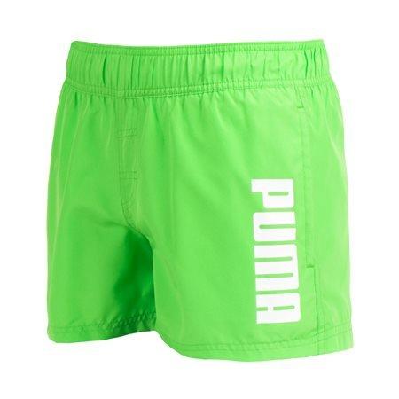 PUMA - Bañador Active Big Cat Logo Hombre Verde