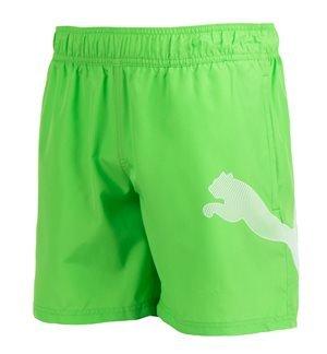PUMA - Bañador Active Big Cat Hombre Verde