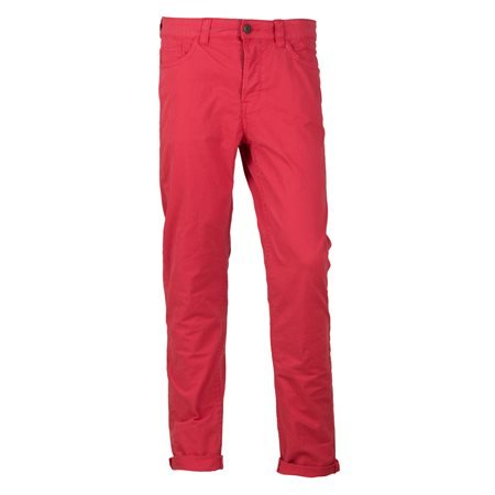 ONLY AND SONS - Men's onsLoom Twill Chino Long Trousers. Red