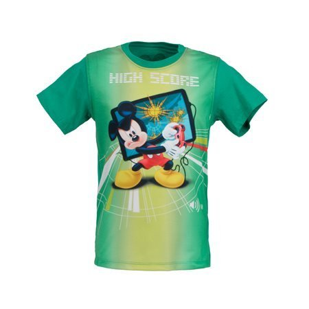 MICKEY MOUSE - Camiseta de manga corta Junior Verde