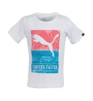 PUMA - Camiseta de manga corta Style Beach Tee II Junior Blanco