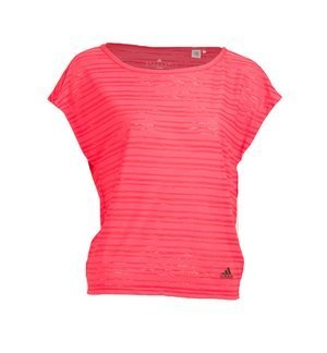 adidas Performance - Camiseta de manga corta Lightweight Mujer Coral